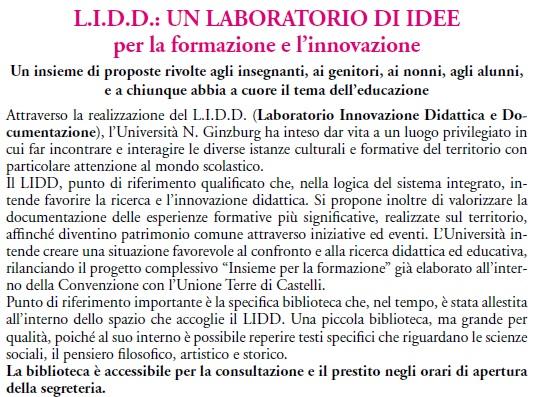 LIID un laboratorio di idee