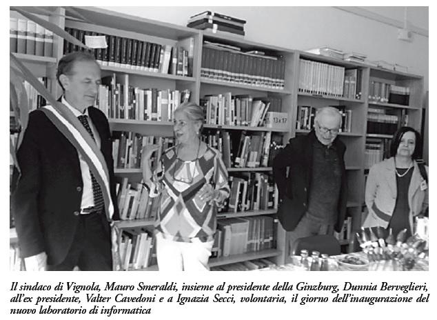 Sindaco e figure di riferimento Ginzburg Vignola