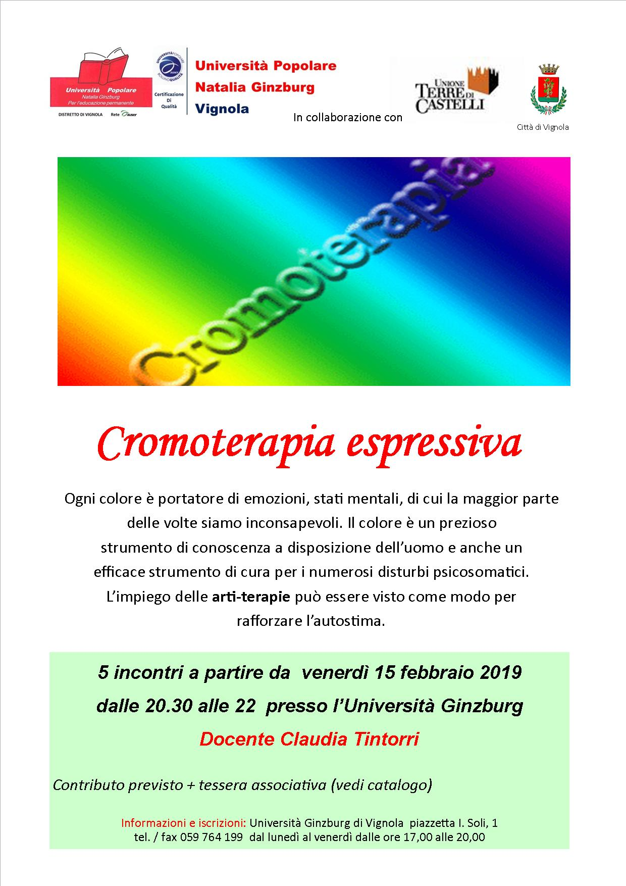 Cromoterapia espressiva
