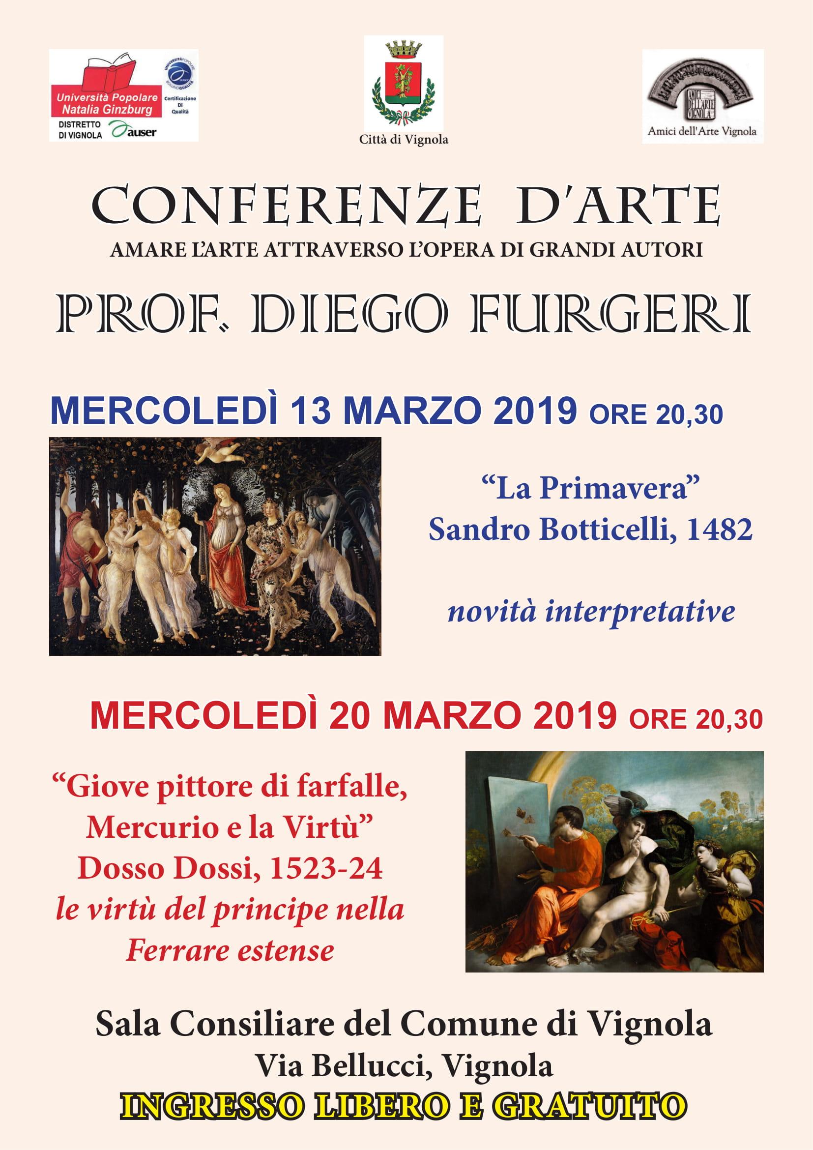 La Primavera di Sandro Botticelli. Giove pittore di farfalle, Mercurio e la Virtù.