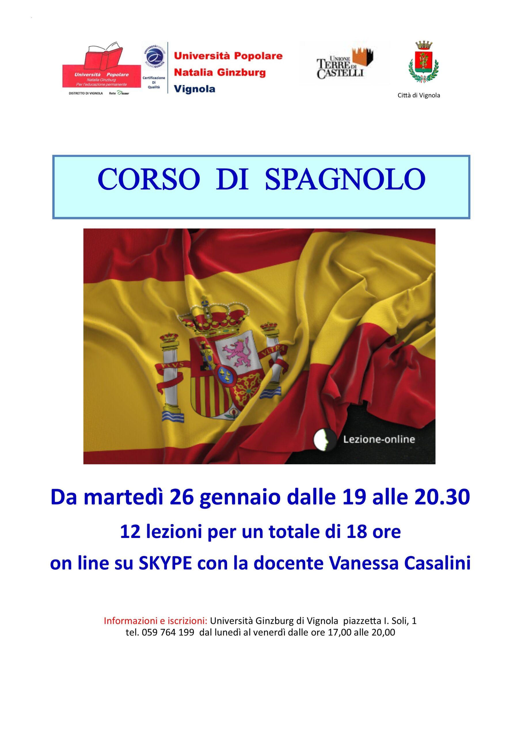 Volantino Corso di spagnolo 0102-2021